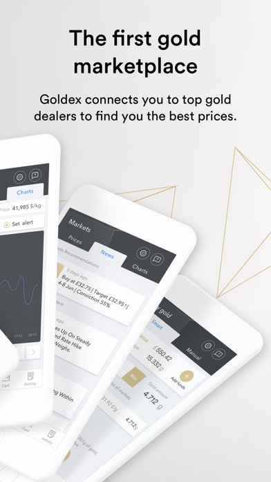 Goldex: Smart way to buy gold screenshot two