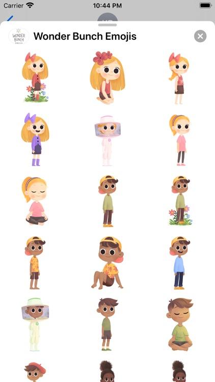 Wonder Bunch Emojis screenshot-3