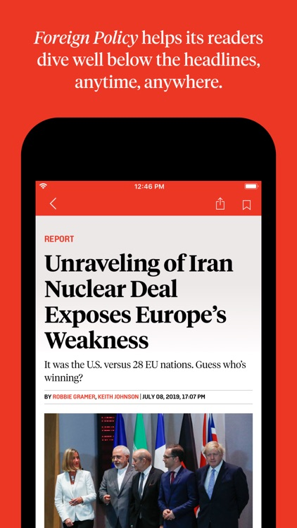 Foreign Policy for Mobile screenshot-3