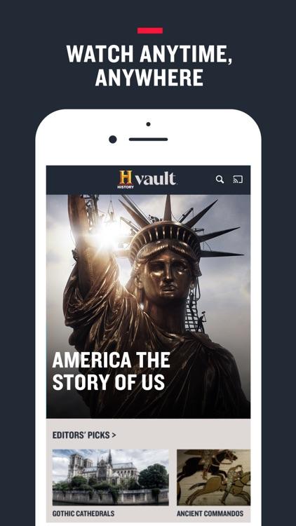 HISTORY Vault screenshot-0