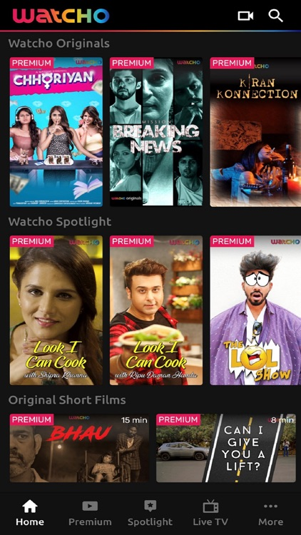 Watcho:Original Spotlight Show by Dish Infra Services Private
