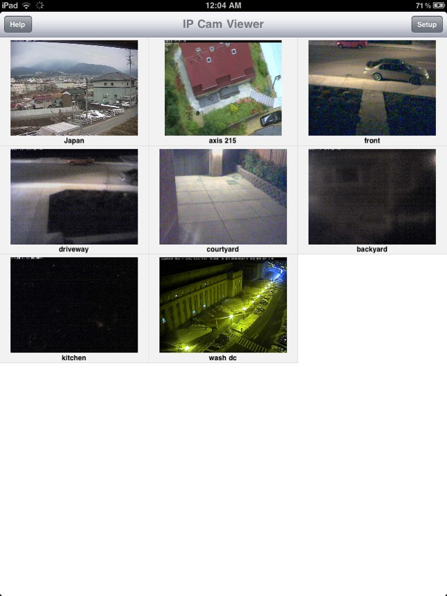 IP Cam Viewer Lite on the App Store