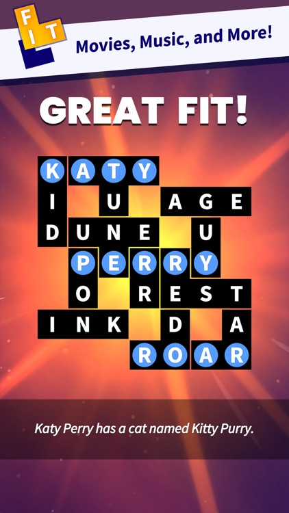Flow Fit - Word Puzzle screenshot-1