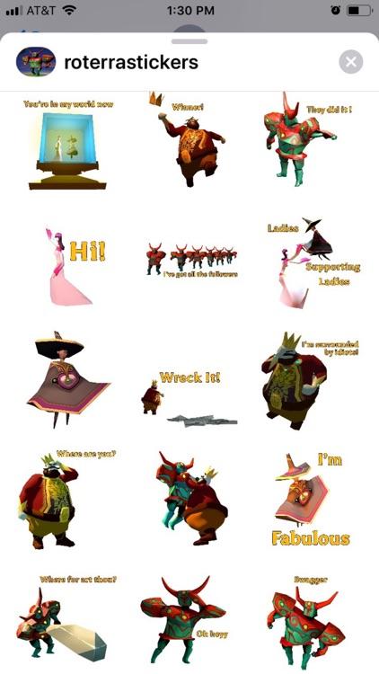 Roterra Game Emoji Stickers
