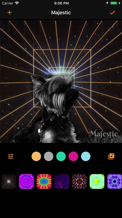 Majestic - Trippy filters