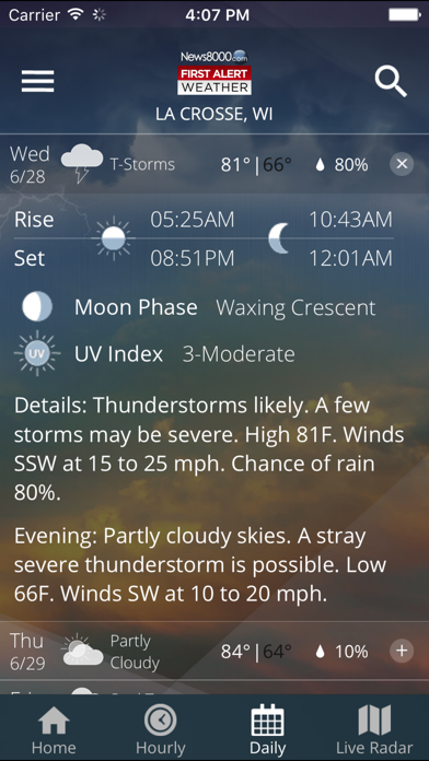 Screenshot for News 8000 First Alert Weather in United States App Store