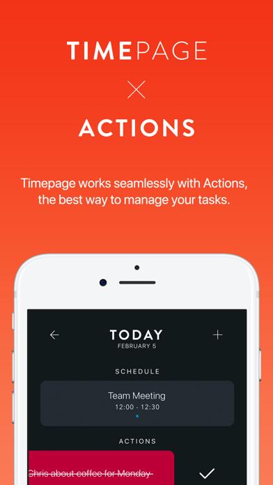 Timepage Screenshots