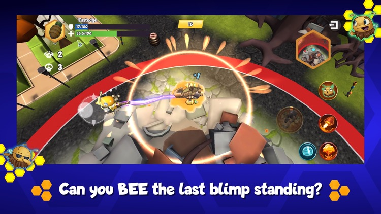 Battle Bees Royale screenshot-4