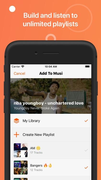 Musi - Simple Music Streaming screenshot-3