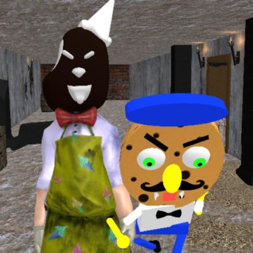 Scary Scream Sponge Neighbor