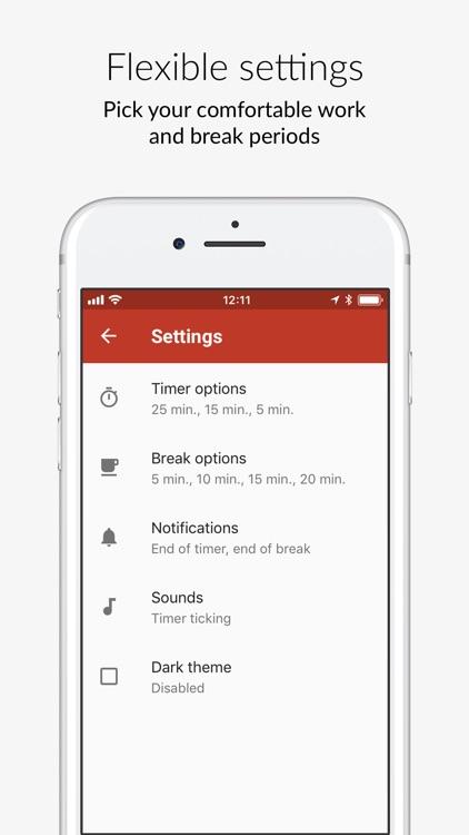 Pomo Done - hack your timer screenshot-5