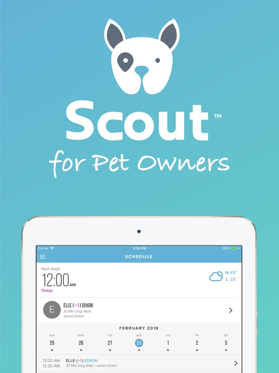 Scout for Pet Owners screenshot