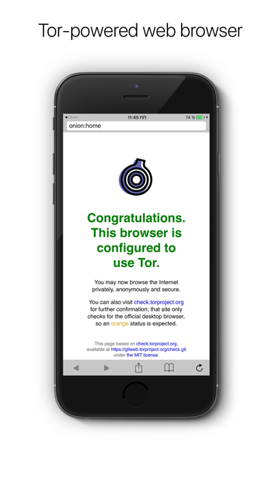 Onion - Anonymous web-browser Screenshots
