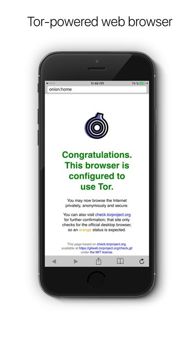 Onion - Anonymous web-browser Screenshots