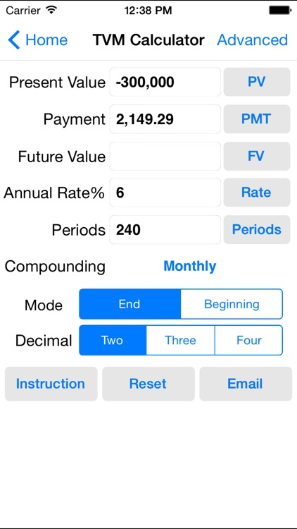 EZ Financial Calculators screenshot-2