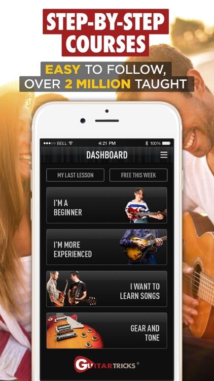 Guitar Lessons - Guitar Tricks screenshot-3