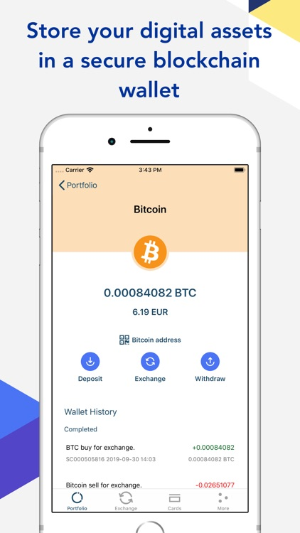 Bitcoin Wallet by SpectroCoin