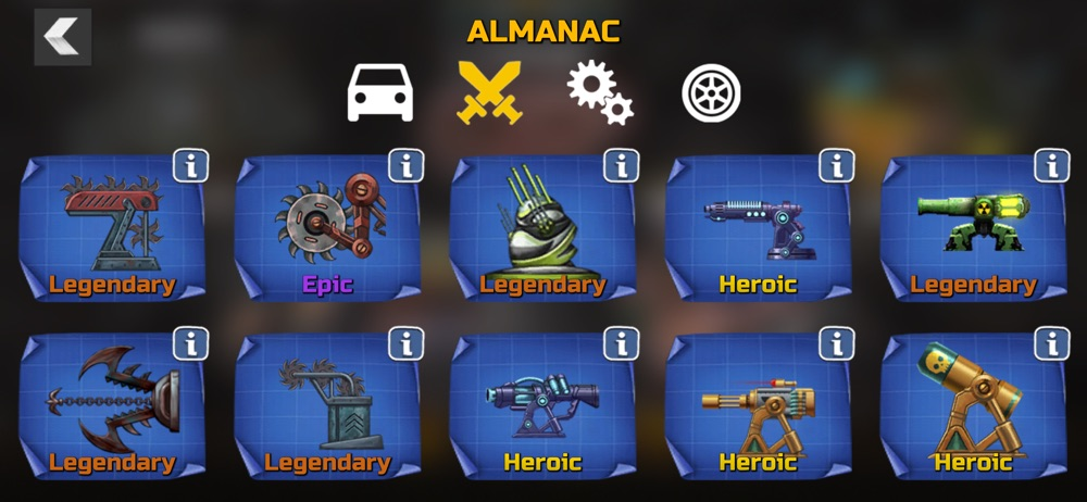 War Cars: Epic Blaze Zone hack tool