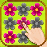Pink Flower Puzzle Game