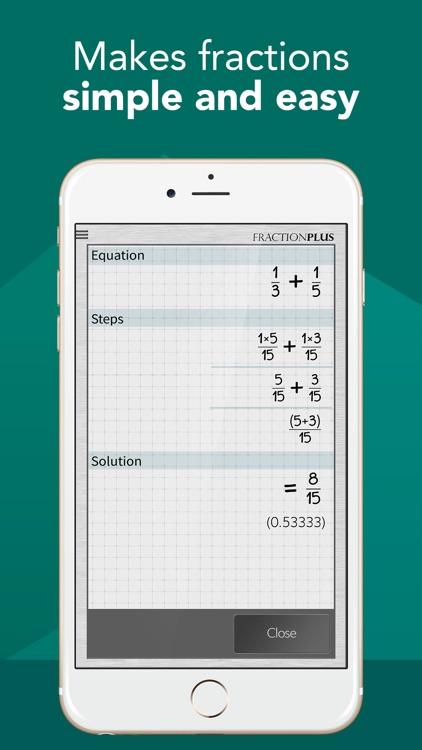 Fraction Calculator Plus #1
