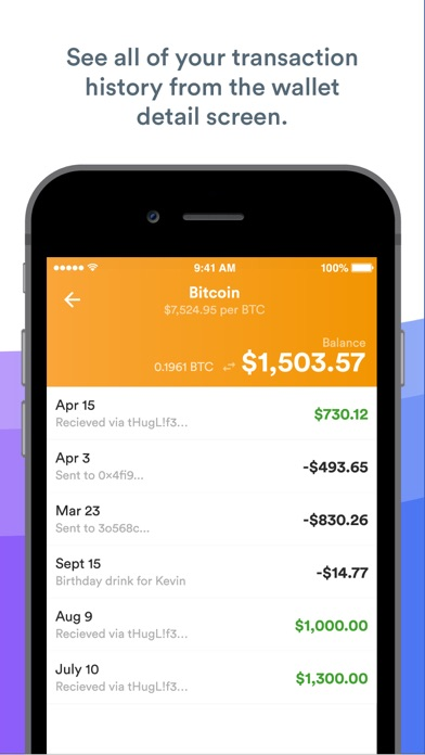 Screenshot for BRD Bitcoin Wallet, Ethereum in United States App Store