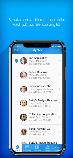 u200eresume builder  resume creator on the app store