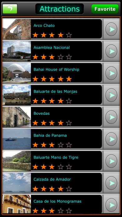 Panama Offline Map Guide screenshot two
