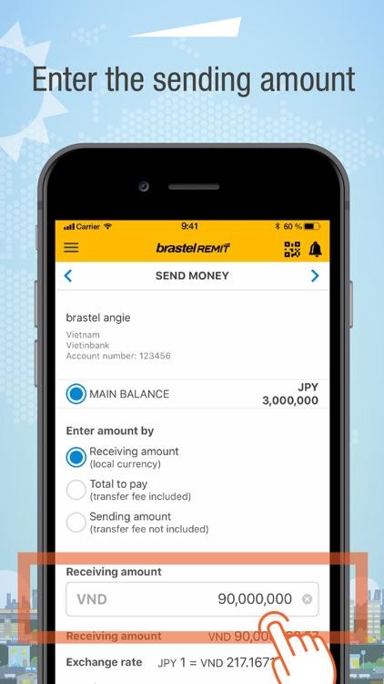 Brastel Remit - Send Money screenshot-3