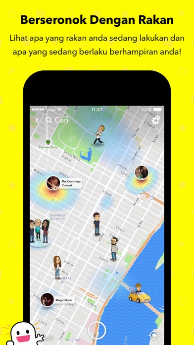 Screenshot for Snapchat in Malaysia App Store