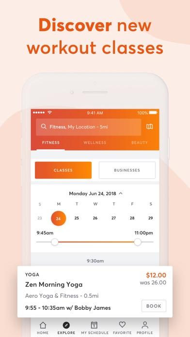 MINDBODY: Gym, spa & wellness app image