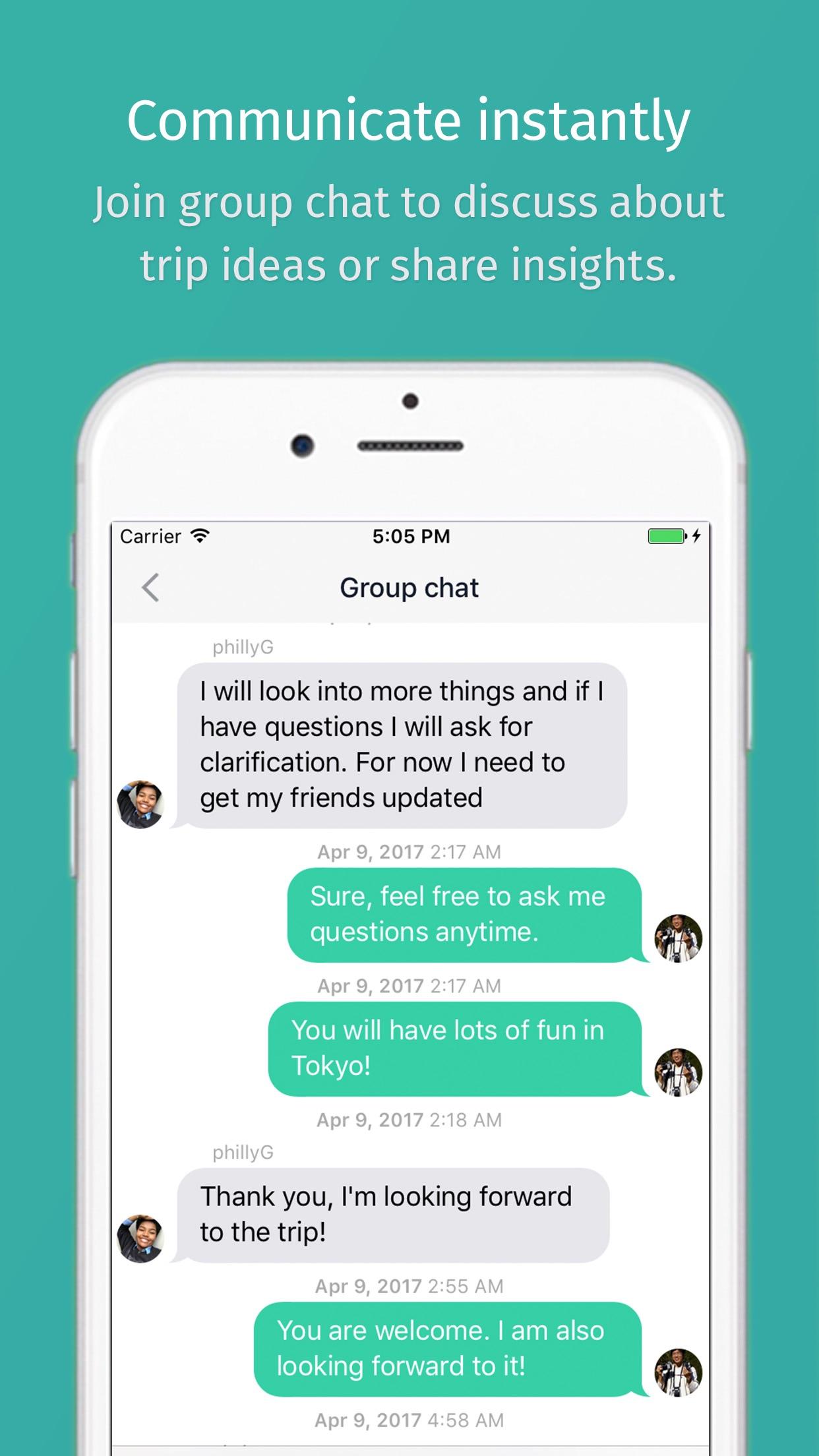 TripHugger - Trip Planner Screenshot