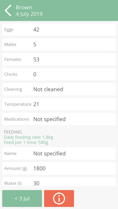 Poultry Assistant Screenshot