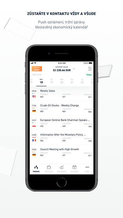Screenshot for xStation Forex, Stocks Trading in Czech Republic App Store