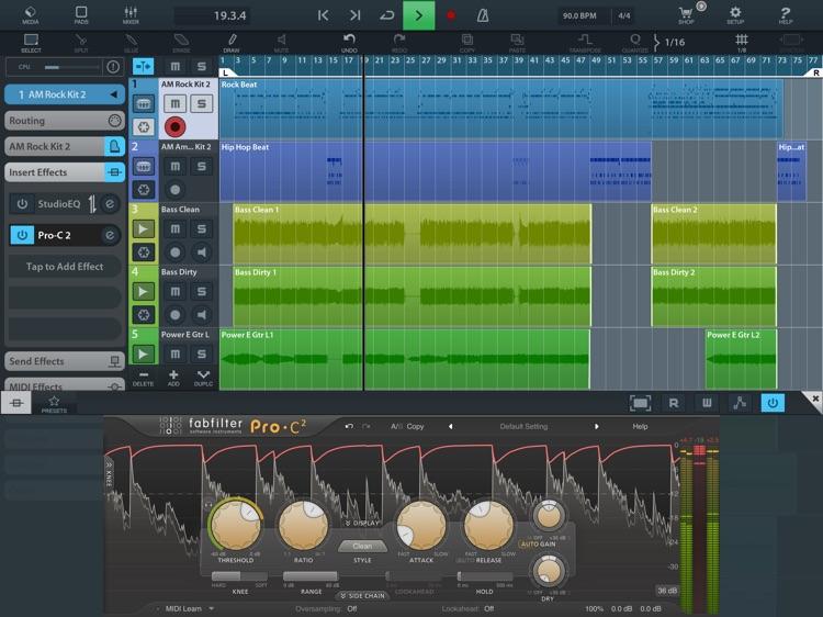 FabFilter Pro-C 2 screenshot-4
