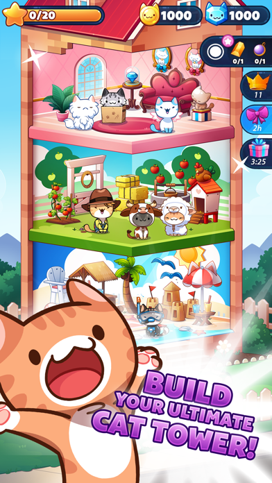 Cat Game - The Cats Collector! screenshot 4