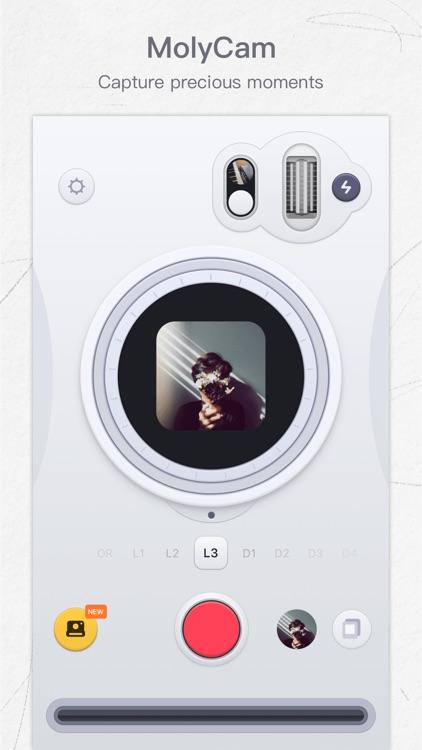 MolyCam - Retro Effects Camera screenshot-0