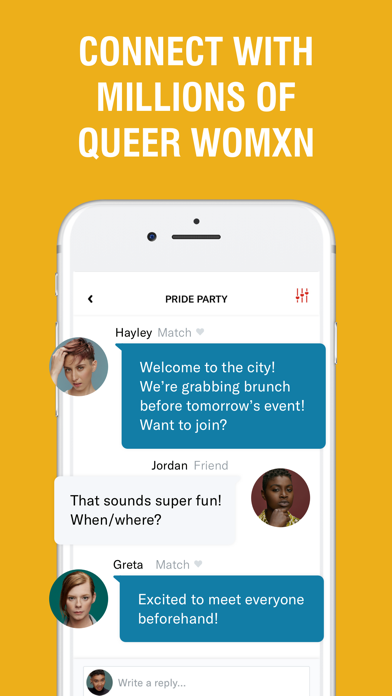 Download HER: Lesbian Dating & Chat App for Pc