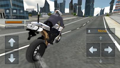 Police Motorbike Simulator 3Dلقطة شاشة6