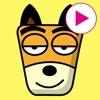 TF-Dog Animation 8 Stickers