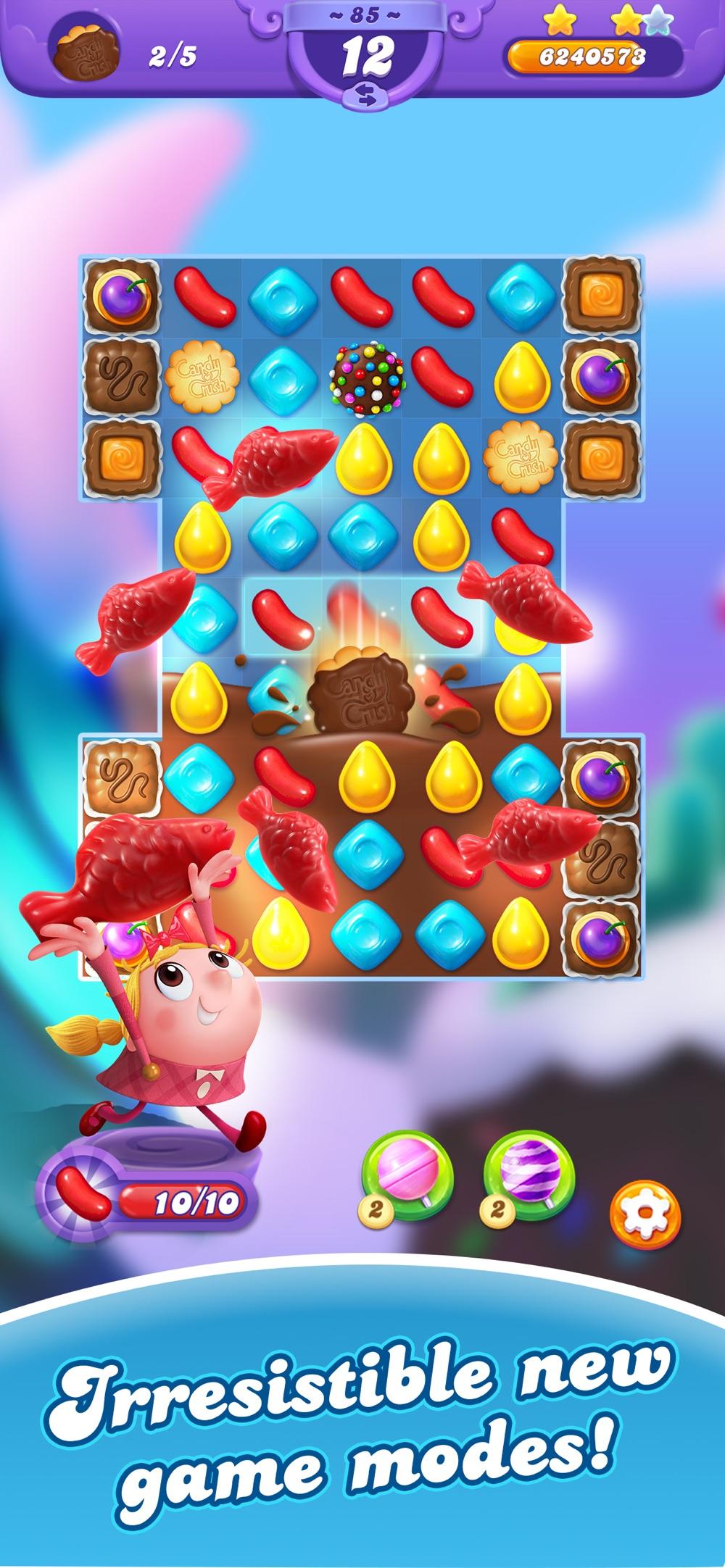 Candy Crush Friends Saga Cheat Codes
