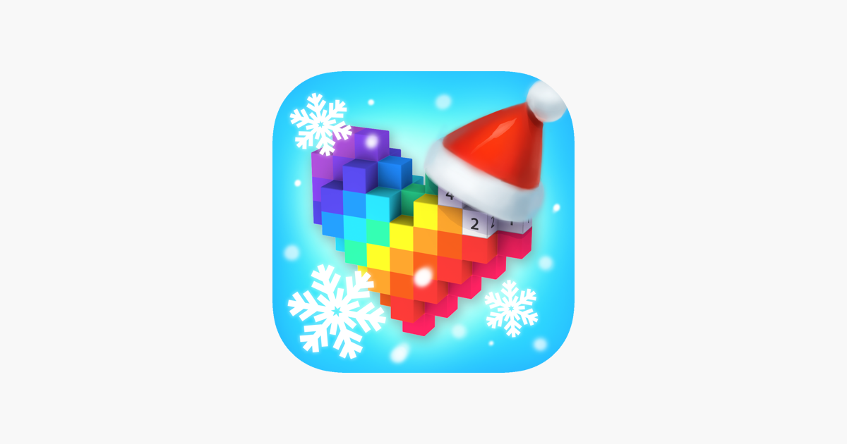 Voxel 3d Color By Number On The App Store