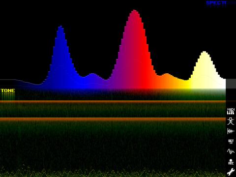 SpectrumGen - náhled