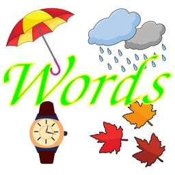 English words, nouns and test