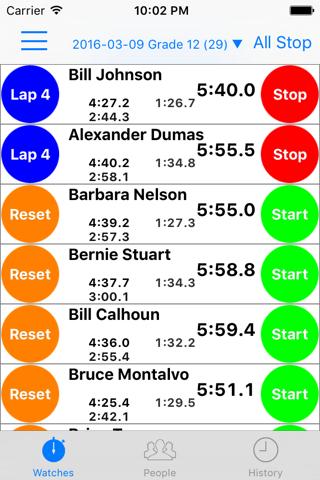 Ultimate Stopwatch - náhled