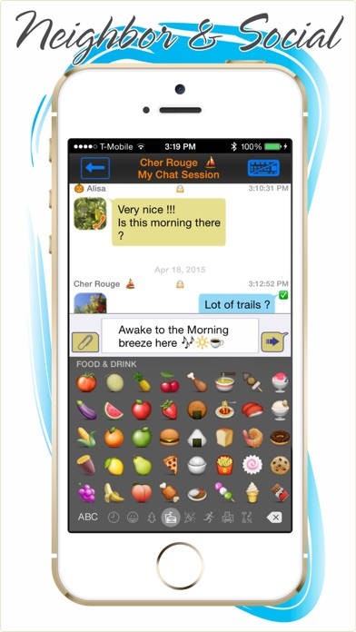 Cool Video Talkie & Chat Screenshot on iOS