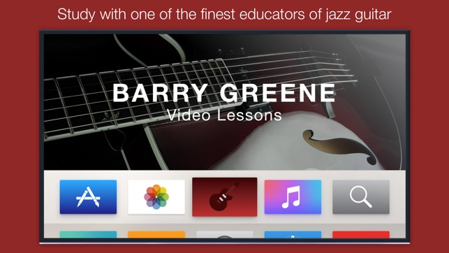 Barry Greene Video Lessons on the App Store