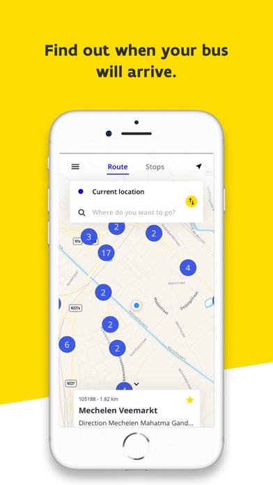 Screenshot for De Lijn in Estonia App Store