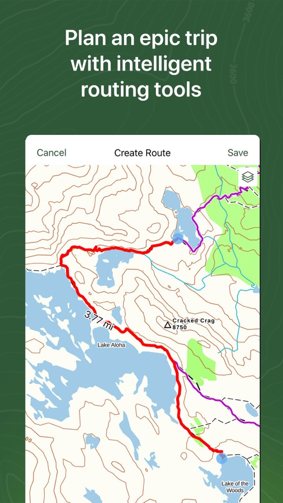Gaia GPS Hiking, Hunting Maps App for iPhone - Free Download