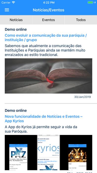 Kyrios ChMS screenshot four