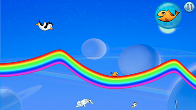 Racing Penguin: Slide and Fly!-2